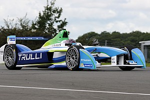 Michela Cerruti ready for Formula E challenge