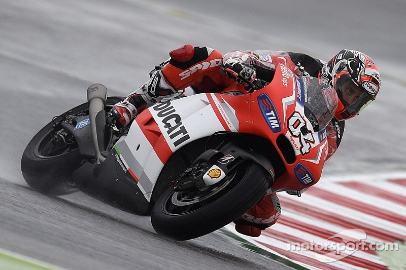 Dovizioso shows great form on first day of free practice in San Marino