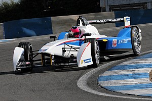 Andretti Formula-E Team is leading the inaugural FIA Formula E Championship