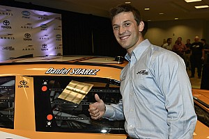 It's showtime for Daniel Suarez