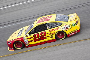 NASCAR Sprint Cup Race report NASCAR notebook, Chicago: Logano lasts just long enough