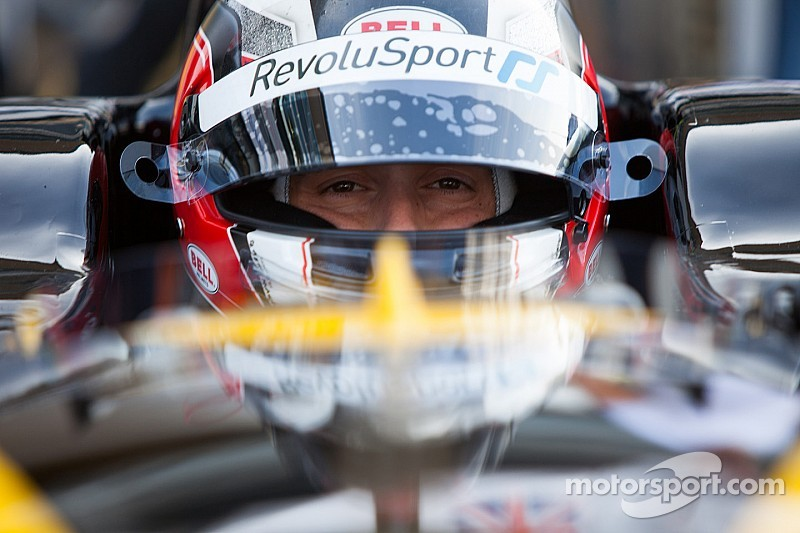 GP2's Stéphane Richelmi on the starting grid of the Blancpain Endurance at the Nürburgring