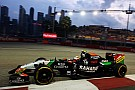 A productive Friday at the Marina Bay Circuit for Sahara Force India