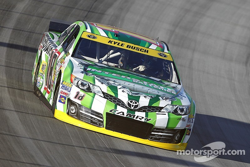 Kyle Busch has been using the 'crash test' approach with his pit crew