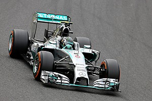 Rosberg tops FP3 as Hamilton crashes out