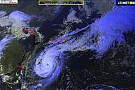 UBIMET weather update: Super Typhoon Phanfone heads for Japan coast and Formula One