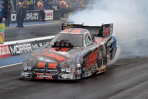 NHRA Race report Hagan takes NHRA Funny Car points lead with Maple Grove win