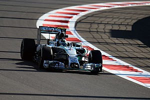 Rosberg fastest as inaugural Russian GP gets underway