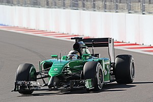Formula 1 Breaking news Kobayashi hints Caterham suffering parts shortage