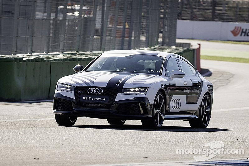 Proof positive: Audi RS 7 concept taken to the limit with no driver