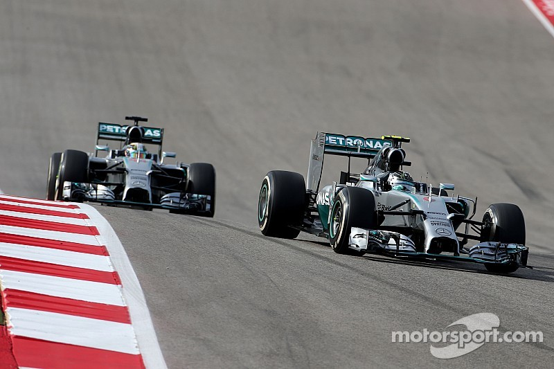 Rosberg 'not thinking about' title defeat