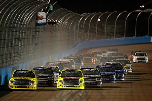 NASCAR Truck Race report Erik Jones repeats in Phoenix truck race as second power failure halts action