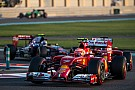 Abu Dhabi Test: Raikkonen and Marciello on track