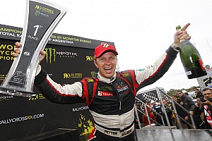 World Rallycross Race report Solberg ends title-winning season with victory in Argentina