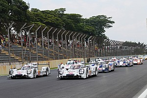 WEC Breaking news WEC schedule confirmed for 2015