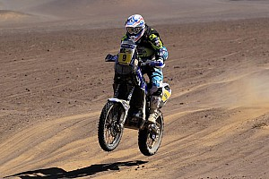 Yamaha factory racing's Olivier Pain talks 2015 Dakar