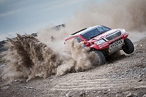 Dakar Breaking news Dakar competitors recover from savage second day in third stage