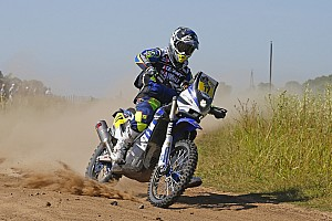 Yamaha riders look back on the first week of Dakar 2015