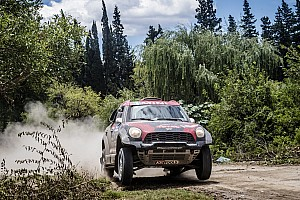Dakar Stage report Price joins the elite, Terranova enjoys himself