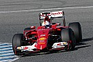 Ferrari: First day of testing in Jerez