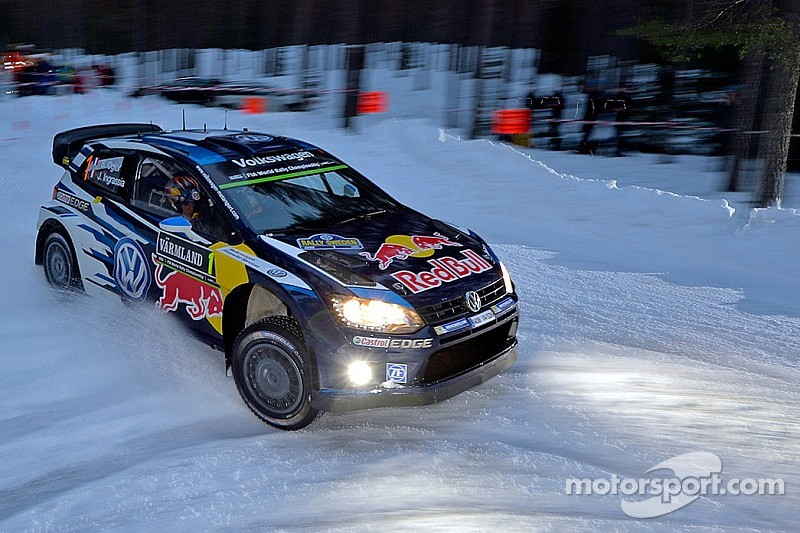 Ogier wins Rally Sweden as Mikkelsen spins on powerstage