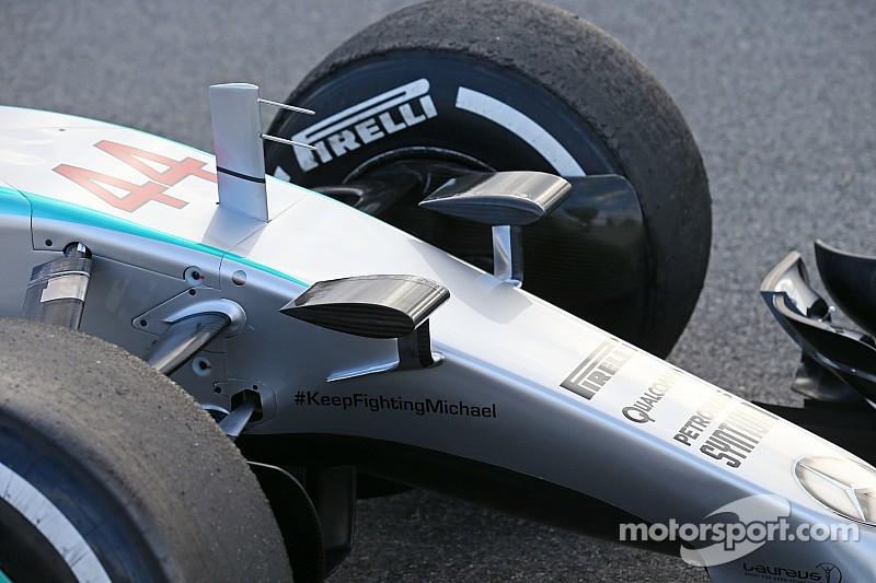 Mercedes se encuentra una entrada para el montaje de la cámara