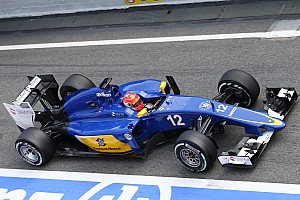 Formula 1 Testing report Another positive day for the Sauber and Felipe Nasr in Barcelona
