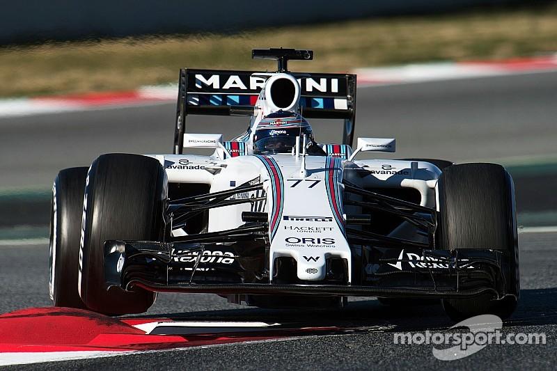 Williams: estamos trabajando duro para alcanzar a Mercedes