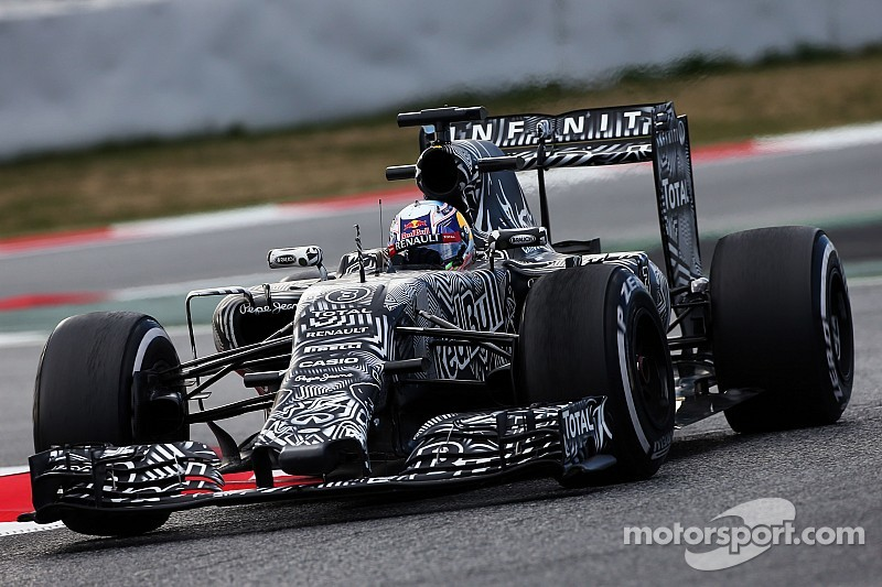 Red Bull completes the 2015 winter testing programme in Barcelona