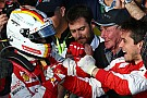 Ferrari delighted with Vettel podium