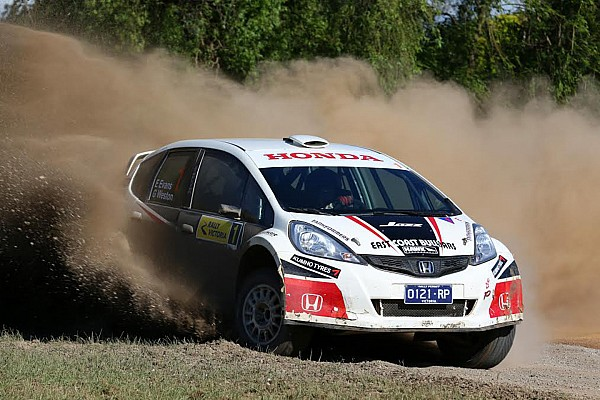 New car for Oz rally star Evans