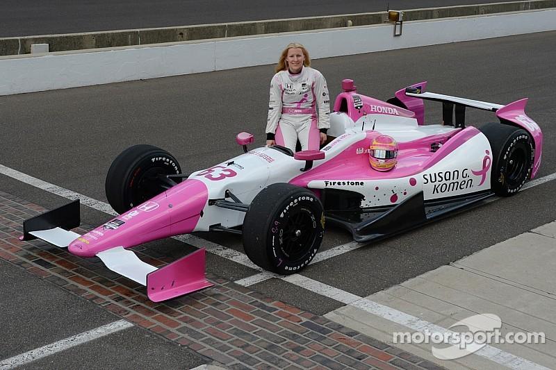 Pippa Mann estará en  las 500 millas de Indianápolis