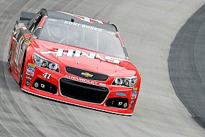 Kurt Busch leads final practice at Bristol
