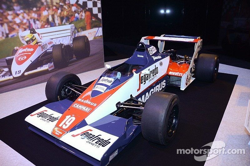 El Toleman de Senna, en venta por un millón de libras