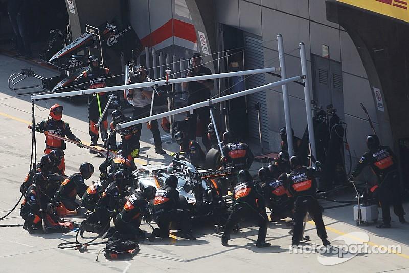 Force India plantea una elección libre de neumáticos