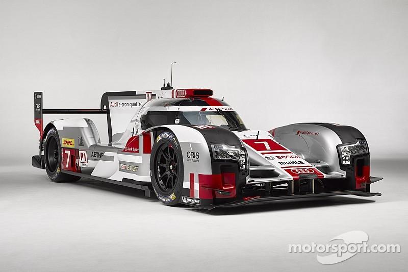 Audi R18 e-tron quattro with new aerodynamics