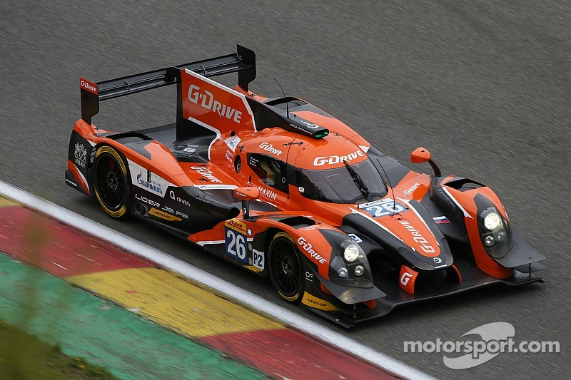 Podium finish for G-Drive Racing at the WEC 6 Hours of Spa