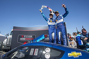 IMSA Race report Westbrook, Valiante take TUDOR Championship win at Laguna