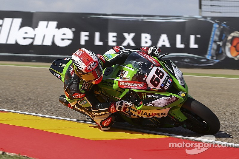 Rea tops timesheets on opening day at Imola