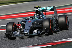 40th Formula One pole position for the Silver Arrows in Barcelona front row lockout!