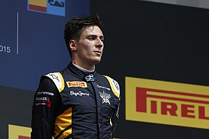 GP2 Race report Alex Lynn puts DAMS back on top!