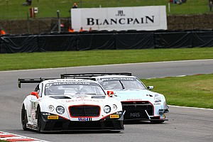Blancpain Sprint Race report Bentley Team HTP scores double class victory in England