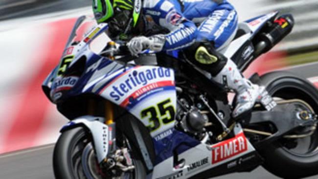 WSBK 2010, Yamaha: pole e podio a Portimao
