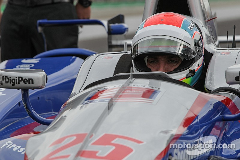 Justin Wilson gets back behind the wheel with no plans after Indy