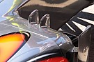 La McLaren con due pinne sulla pancia