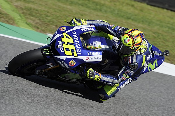 Rossi blames hard tyre for Mugello practice struggles