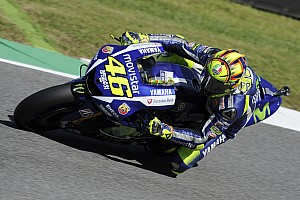 Rossi blames hard tyre for Mugello practice struggles