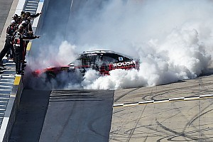 NASCAR XFINITY Race report Buescher pushes past teammate to take Dover victory