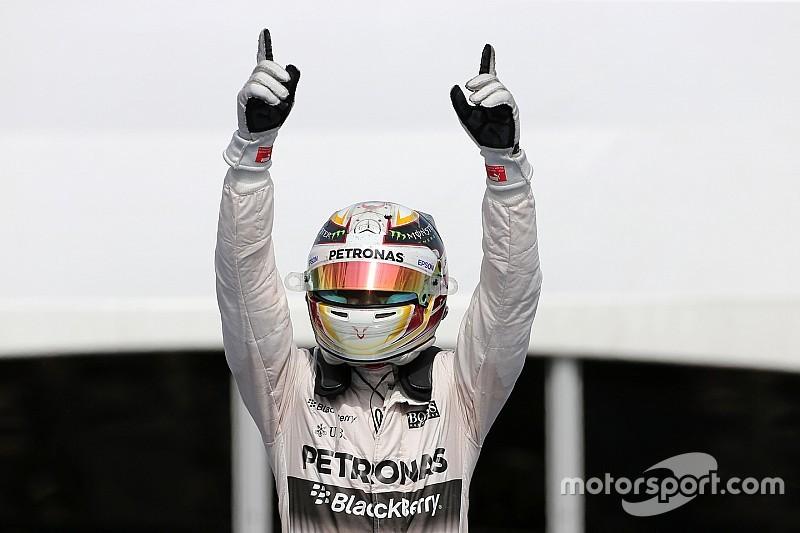Hamilton llega a 37 victorias