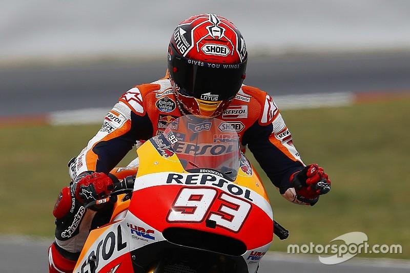 Márquez lidera el 1-2 de Honda en la 1° práctica